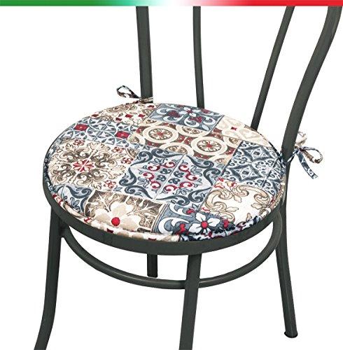 Prezzi Cuscini per sedie rotondi cucina Tutto Pilates