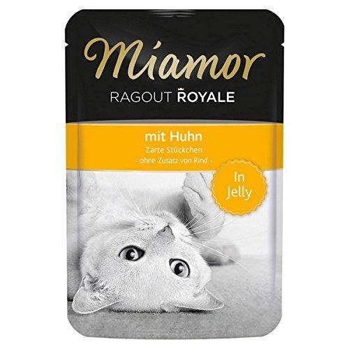 Miamor Katzenfutter Ragout Royal Huhn 100 g, 22er Pack (22 x 100 g)
