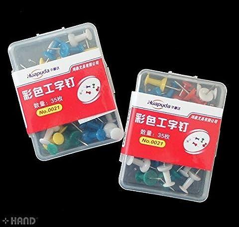 MAIN 0021 Colourful planche à dessin Pins appx 35 Pins un pack