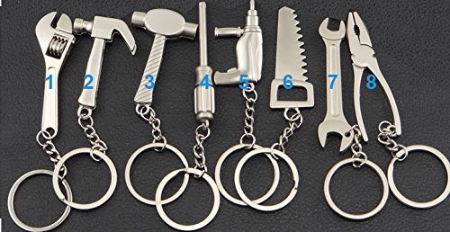 Preisvergleich Produktbild Bohrmaschine Nr. 5 Schlüsselanhänger Werkzeug Hammer Keychain Anhänger Werkzeug Geschenk