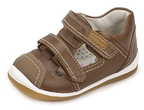 Garvalín 172325, Chaussures Premiers Pas Mixte Bébé Marron