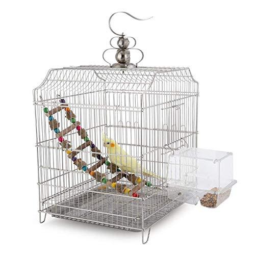 WANNA.ME Vogelkäfig Feeder Papageien Samen Feeder Acryl