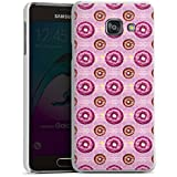 Samsung Galaxy A3 (2016) Housse Étui Protection Coque Donut party Rose vif Marron