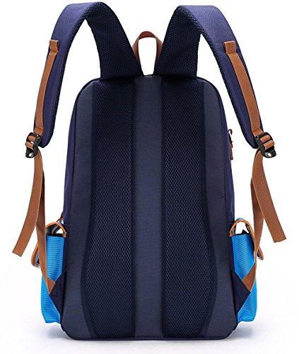Zaino Keshi In Nylon Carino Bambina Blu