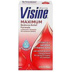 Visine Maximum Redness Relief, 0.5 Ounce