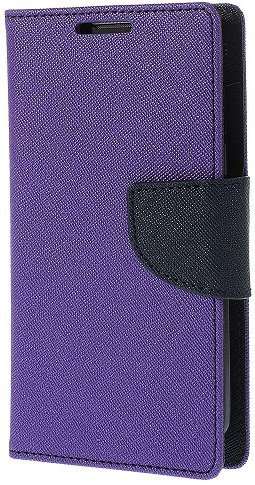 Relax And Shop Luxury Diary Wallet Style Flip Cover Case for Samsung Galaxy Grand Duos GT 9082- Purple  available at amazon for Rs.189