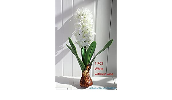 1 PCS Artificial Flower Hyacinth with Bulb Home Garden Decoration F367