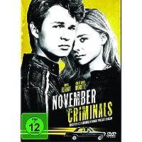 The November Criminals, 1 DVD