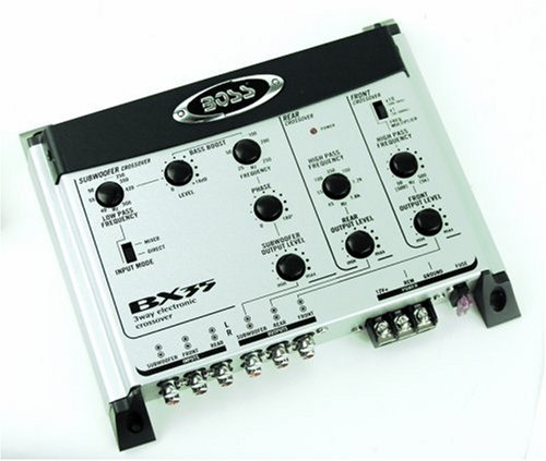 Boss Audio 3Way Electronic Crossover/ Subwoofer Input amp; Output