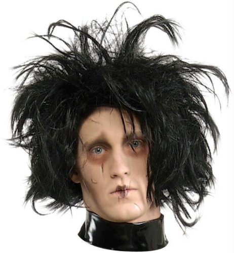 Edward mit den Scherenhänden Perücke Halloween Kostüme Cosplay Wig Perücke Haar für Maskerade Make-up (Den Kostüm Mit Handschuhe Edward Scherenhänden)