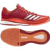 adidas Herren Crazyflight X Volleyballschuhe, rot/weiß