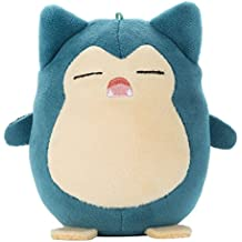 Pokemon Mocchi-Mocchi-mini Snorlax (Smile) Peluche