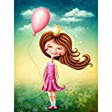PB Little Fairy Girl Unframed Canvas Painting 18 x 24inch