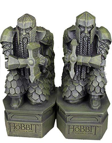 Hobbit-Buchstützen, Herr der Ringe Skulptur Hobbit Smaug Statue Buch Schreibtisch Schreibtisch Ornamente Schmuck -