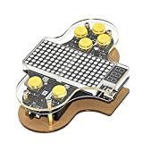 KKmoon Upgraded Electronic DIY Game Console Kit V2 Soldering Practice Kit with Open Source