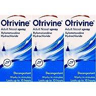 Otrivine Adult Nasal Spray 10ml x 3 Packs