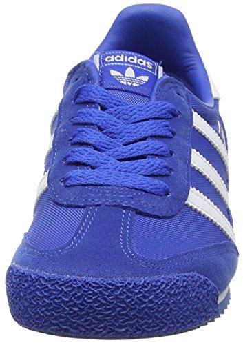 adidas Unisex-Kinder Dragon Og Sneakers Blau (Blue/footwear White/blue)