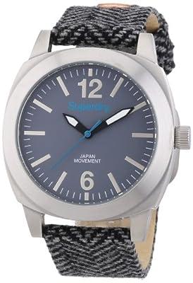 Superdry SYL129E - Reloj analógico de cuarzo para mujer, correa de tela multicolor de Superdry