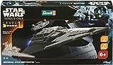 Revell Modellbausatz Star Wars Imperial Star Destroyer im Maßstab 1:4000, Level 1, originalgetreue Nachbildung mit vielen Details, Build & Play mit Light&Sound, zum Bauen & Spielen, 06756