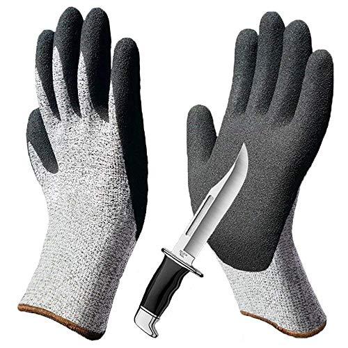 Schnittfest Handschuhe Level 5 Schutz Küche Handschuh und Safty Handschuhe Schnittfest,stichfest, Rutschfest, verschleißfest für Schneiden zum Hand Schutz und Yard-Work-8