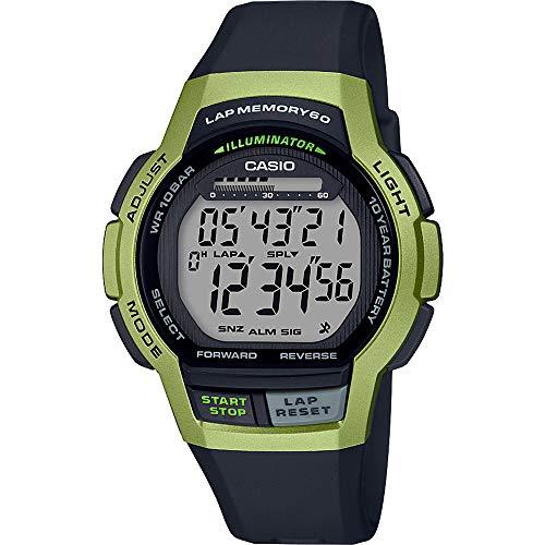 CASIO Reloj Digital Hombre Cuarzo Correa Resina WS-1000H-3AVEF