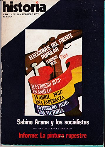 Historia 16. Elecciones Del Frente Popular Febrero De 1936