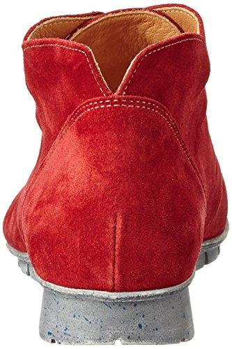 Think! Menscha, Bottes Classiques Femme Rouge (Rosso/Kombi 72)