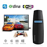 GGMM V-linker HDMI Dongle Miracast Dongle WIFI , Dual Band Wireless 5GHz / 2.4GHz per Condividere Foto / Musica / Video / Gioco / Internet e Intero Schermo del Telefono Cellulare da Schermo TV Grande HDMI