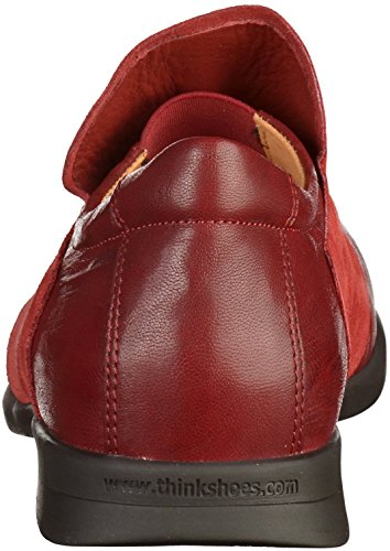 Think! Damen Pensa Slipper Rot
