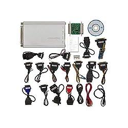 XTMC Auto-ECU-Programmierer, V10.93-Komplettsatz mit Allen 21 Artikeln, Adapter, Universalwerkzeug zur Reparatur von Autoradios, Armaturenbrettern, Wegfahrsperren, Mikrocontroller-Programmierung