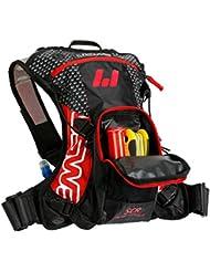 USWE Sports F3 Pro 201201 - Mochila de hidratación para adultos (380 x 320 x 80 cm 15 litros de capacidad) color rojo y negro