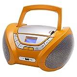 Lauson CP447 CD Portatile Lettore USB Radio Mp3 USB, Boombox Music System, AUX IN CD-Radio immagine