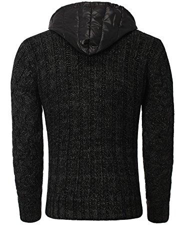 VSCT Clubwear Herren strickjacken Schwarz