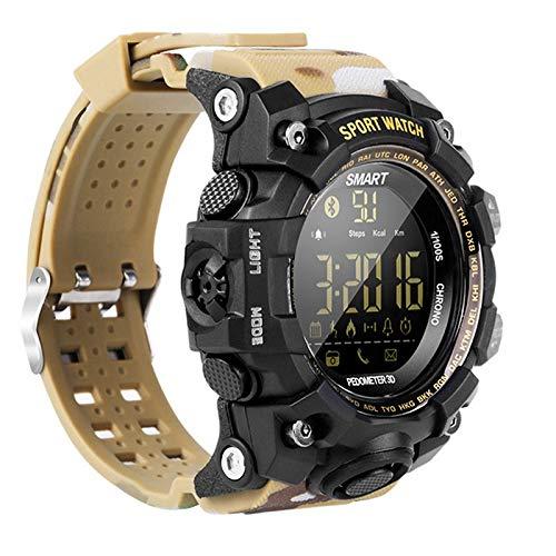 Lincjly ttkc Smart Watch Sport Passometer Messaggio Promemoria IP68 Impermeabile Bluetooth Uomini/Donne Smartwatch per iOS E...