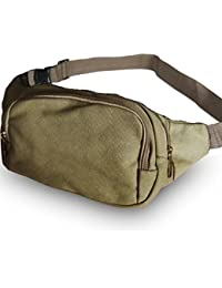 Buyworld Multifunctional Casual Canvas Waist Pack Organizer Bag For Men Waist Bags Funny Pack Belt Bag Male Portable...