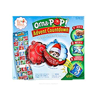 The Elf on the Shelf Orna-Pop! TM Advent Countdown | 2019 Calendarios de Adviento | Suitable Toy for Boys and Girls