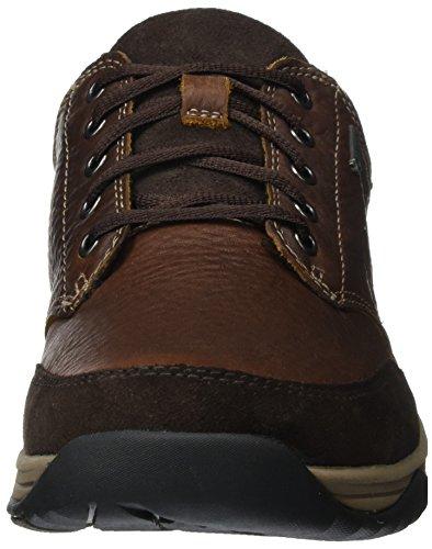 Clarks Baystonego GTX, Francesine Uomo Marrone (Mahogany Leather)