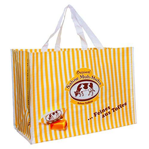 Original Muh-Muhs Tasche, Strandtasche, Einkaufstasche, Feines aus Toffee