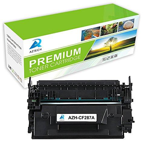 Preisvergleich Produktbild Aztech 1 Pack ersetzt CF287A 87A Tonerkartuschen 9000 Seiten für HP LaserJet M506 M506n M506x M506dn,HP LaserJet MFP M527 M527dn M527z M527f, HP LaserJet Pro M501n M501dn,ersetzt cf287a hp 87a cf287x hp 87x