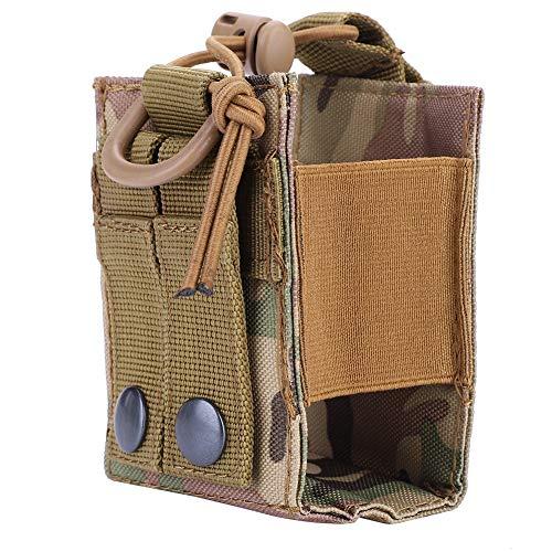 70c7124d00 Molle Radio Pouch, Tactical Military Radio Pouch Bag Waist Holster Tactical  Radio Carry Bag Custodia