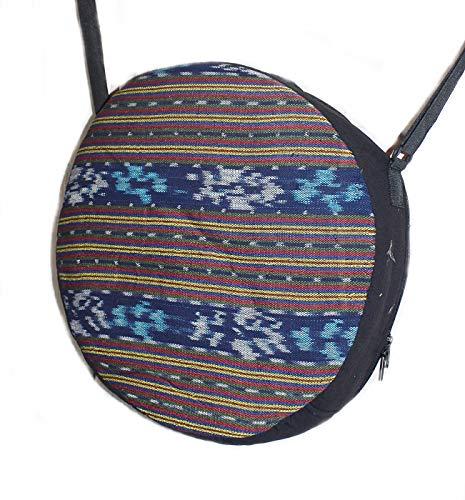 Hejoka-Shop UNIKAT Schamanentrommel Tasche für Trommel 44 cm. Ritual Indian Drum Umhängetasche -