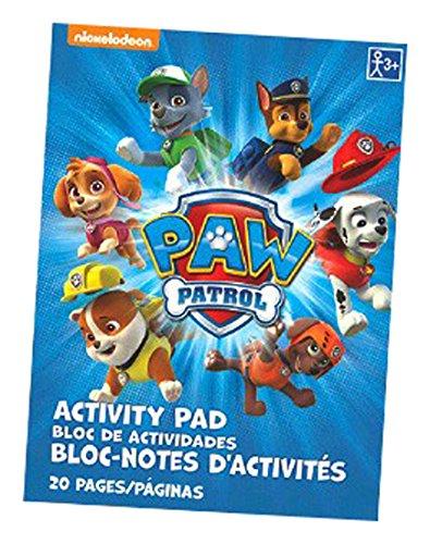 Amscam , Gastgeschenken Paw Patrol Activity Pad Bulk