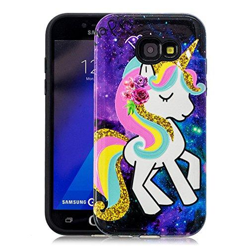 de-Meet Coque Samsung Galaxy A3 2017, Housse Étui Protecteur Cover Case  Coque pour d96c39fd1c20