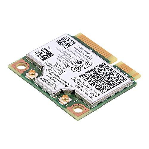 Mini-Wireless-PCI-Karten, 2.4GHz / 5GHz Dualband WiFi Karte, 4.0 HS WLAN Karte 04W3814 / 04X6010 / 04X6090, für Intel 7260AC Intel 2,4 Ghz