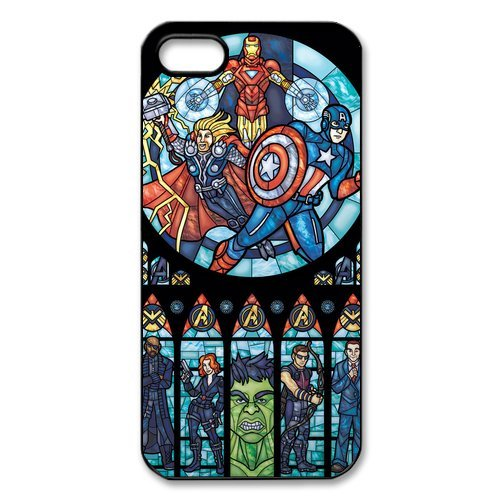 iPhone 5S Case, iPhone 5/iPhone 5S Case Coque, Screen Protector pour iPhone 5S, The Avengers Designs iPhone 5 Case, iPhone 5/iPhone 5S Coque de protection Case