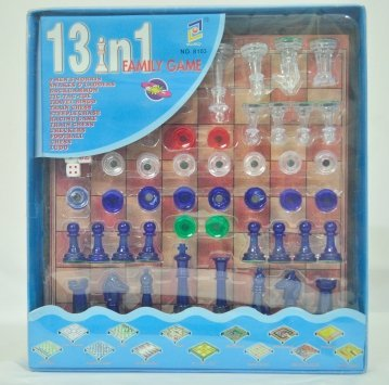 Babysid Collections 13 in 1 Board Game - Multi Activity