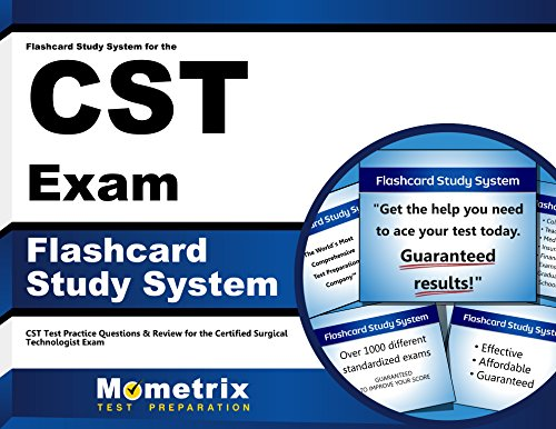 Flashcard Study System for the Cst Exam: Cst Test Practice Questions and Review for the Certified Surgical Technologist Exam