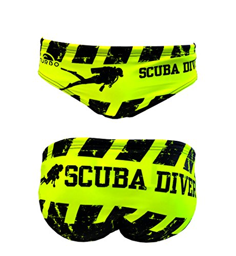 Turbo - Bañador Slip Scuba Diver Waterpolo Competicion