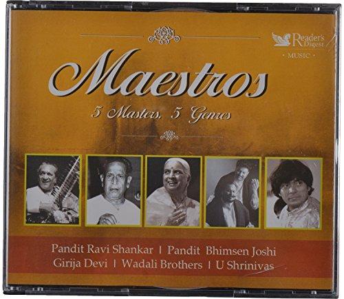 Reader's Digest Music - Maestros - 5 Masters, 5 Genres, Audio CD