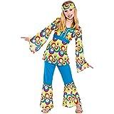 Disfraz las niñas 70's Hippie